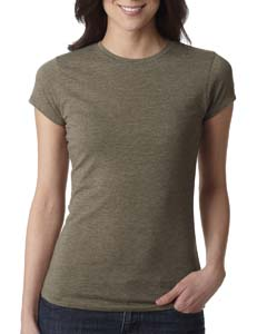 Sage Ladies' Poly/Cotton Short-Sleeve Tee