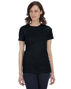 Solid Blk Blend Women's The Favorite T-Shirt