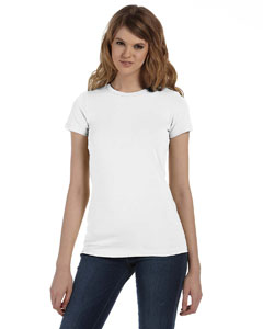 White Women's Made in the USA Favorite T-Shirt