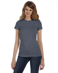 Deep Heather Women's Made in the USA Favorite T-Shirt