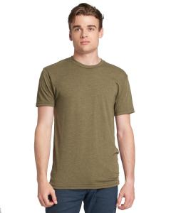 Military Green Men's Triblend Crew Tee