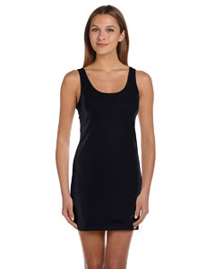 Black Women's Jersey Tank Dress
