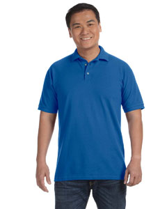 Royal Blue Men's Ringspun Piqué Polo