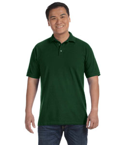 Forest Green Men's Ringspun Piqué Polo