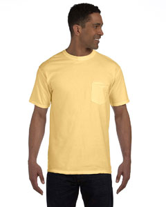 Butter 6.1 oz. Garment-Dyed Pocket T-Shirt