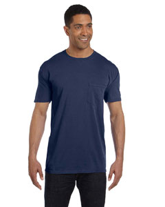 Midnight 6.1 oz. Garment-Dyed Pocket T-Shirt