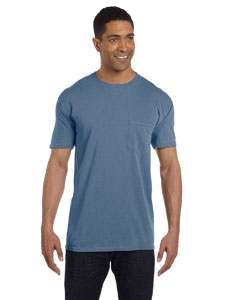 Blue Jean 6.1 oz. Garment-Dyed Pocket T-Shirt