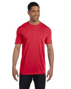 Paprika 6.1 oz. Garment-Dyed Pocket T-Shirt