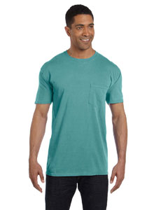 Seafoam 6.1 oz. Garment-Dyed Pocket T-Shirt