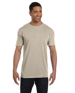 Sandstone 6.1 oz. Garment-Dyed Pocket T-Shirt