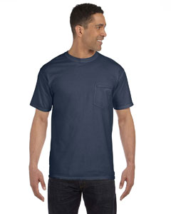 Denim 6.1 oz. Garment-Dyed Pocket T-Shirt