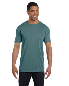 Blue Spruce 6.1 oz. Garment-Dyed Pocket T-Shirt