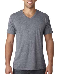 Premium Heather Men's Triblend V-Neck Tee