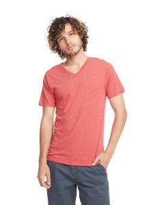 Vintage Red Men's Triblend V-Neck Tee