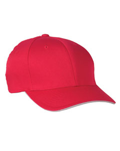 Red/silver Cool & Dry® Sandwich Cap