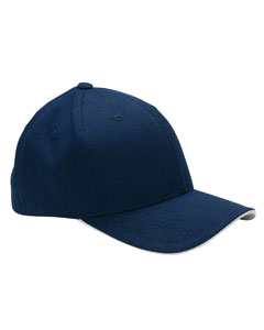 Navy/silver Cool & Dry® Sandwich Cap