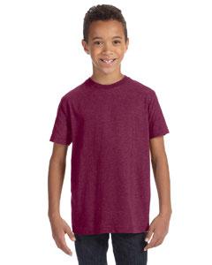 Vintage Burgundy Youth Vintage Fine Jersey T-Shirt