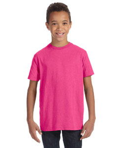 Vintage Hot Pink Youth Vintage Fine Jersey T-Shirt
