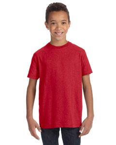 Vintage Red Youth Vintage Fine Jersey T-Shirt