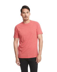 Red Men's Poly/Cotton Short-Sleeve Crew Tee
