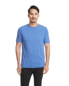 Royal Men's Poly/Cotton Short-Sleeve Crew Tee
