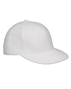 White Premium Fitted Cap