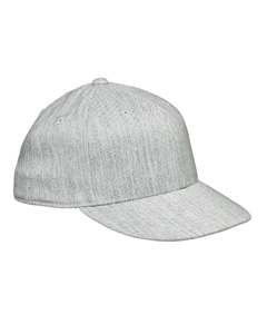 Heather Grey Premium Fitted Cap