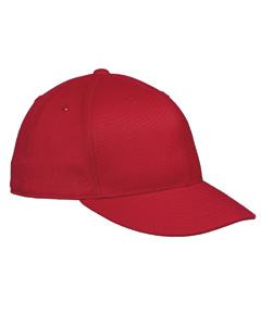 Red Premium Fitted Cap