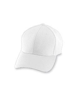 White Athletic Mesh Cap