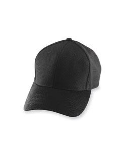 Black Athletic Mesh Cap