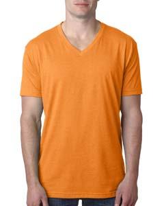 Orange Men's Premium CVC V-Neck Tee