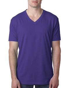 Purple Rush Men's Premium CVC V-Neck Tee