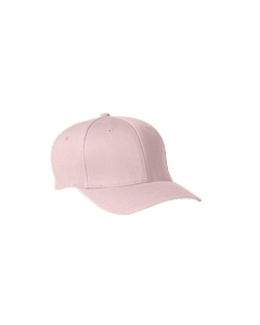 Light Pink Wooly 6-Panel Cap