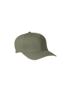 Olive Wooly 6-Panel Cap