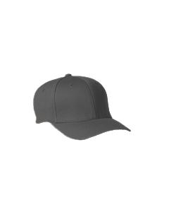 Dark Grey Wooly 6-Panel Cap