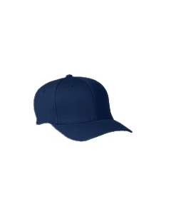 Navy Wooly 6-Panel Cap