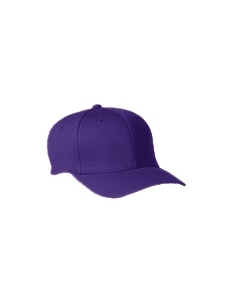 Purple Wooly 6-Panel Cap