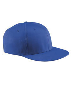 Royal Wooly Twill Pro Baseball On-Field Shape Cap with Flat Bill