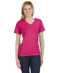 Berry Missy Jersey Short-Sleeve V-Neck T-Shirt