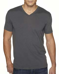 Heavy Metal Men's Premium Fitted Sueded V-Neck Tee