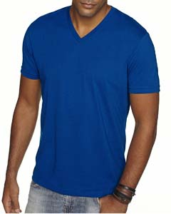 Royal Men's Premium Fitted Sueded V-Neck Tee