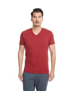 Cardinal Men's Premium Fitted Sueded V-Neck Tee
