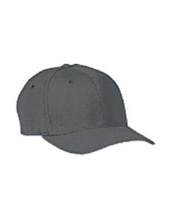 Grey Wooly 6-Panel Cap