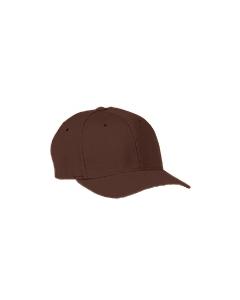 Brown Wooly 6-Panel Cap