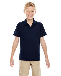 Classic Navy 849 Eperformance™ Youth Shield Snag Protection Short-Sleeve Polo
