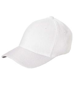 White Cool & Dry® Piqué Mesh Cap