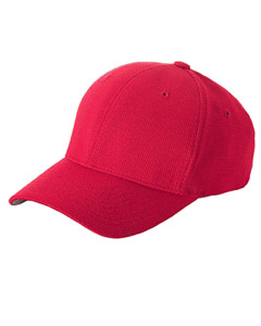 Red Cool & Dry® Piqué Mesh Cap
