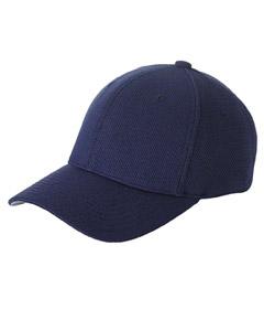 Navy Cool & Dry® Piqué Mesh Cap