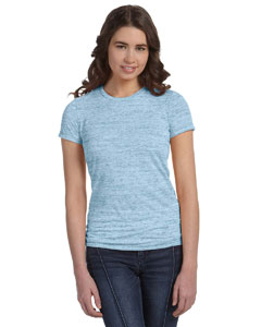 Blue Marble Women's Poly-Cotton Short-Sleeve T-Shirt