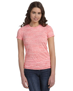 Red Marble Women's Poly-Cotton Short-Sleeve T-Shirt